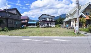 【町有地】 野尻湖まで徒歩5分の住宅地