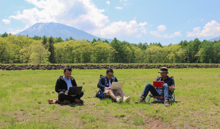 田舎から未来をつくる! 信濃町で進められるリモートワーク研究