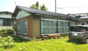 黒姫山を望む駅近くのコンパクト2DK