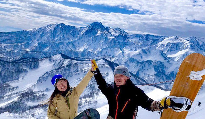 【移住者インタビュー】スノーボードが好き!だから信濃町へ。「私たちらしさ」を追求する暮らしを目指して