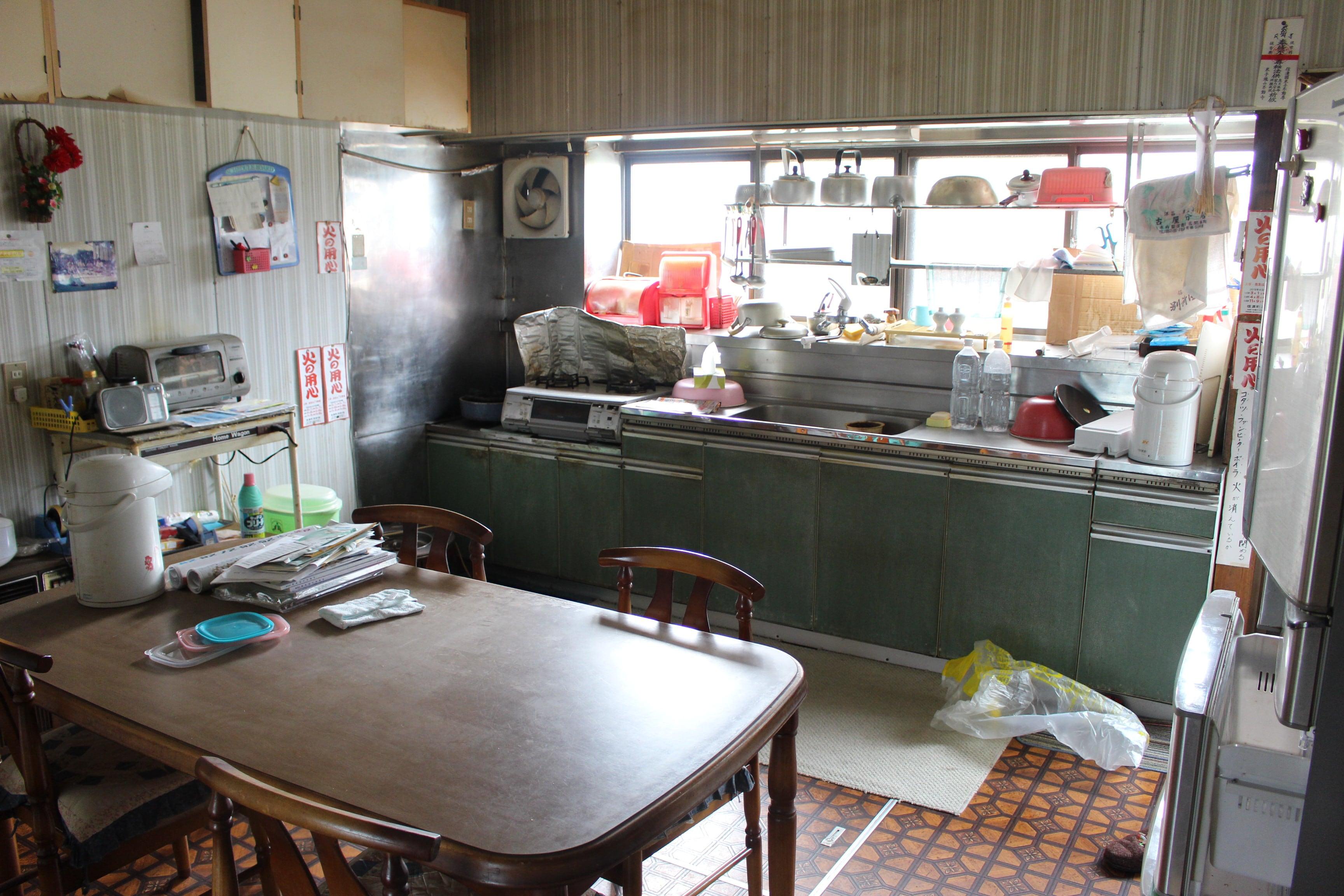 生活感あふれるキッチンに
