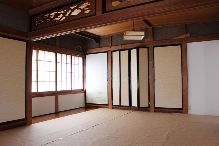 和室の畳も綺麗になっています