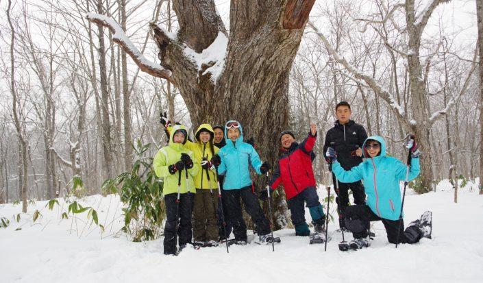 移住者交流会2021『しなのまちの雪山を探検しよう』参加者募集!【スノーシュー】
