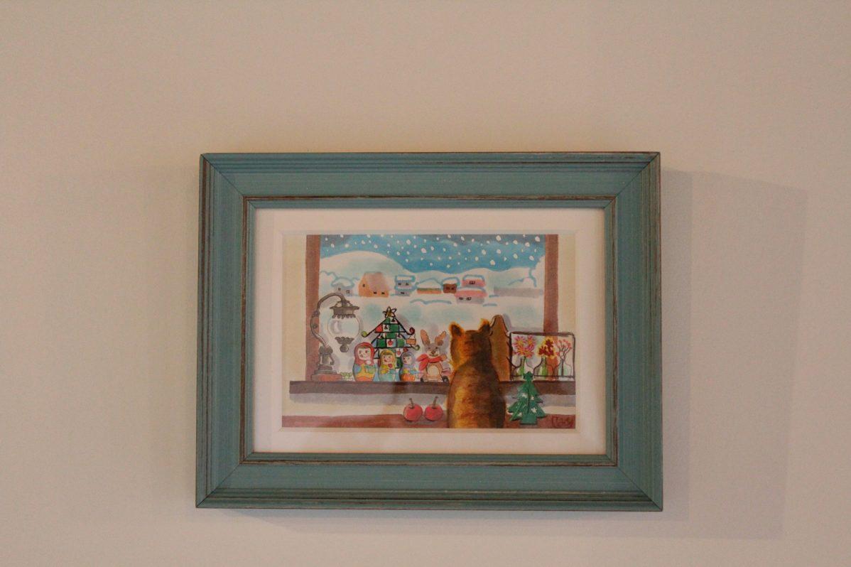 Cafe Soo&Suu... お客様からのプレゼントの絵