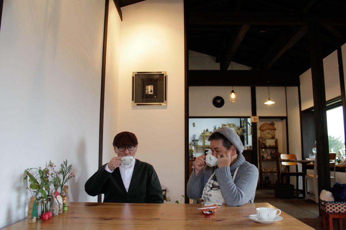 Cafe Soo&Suu... オーナー夫妻