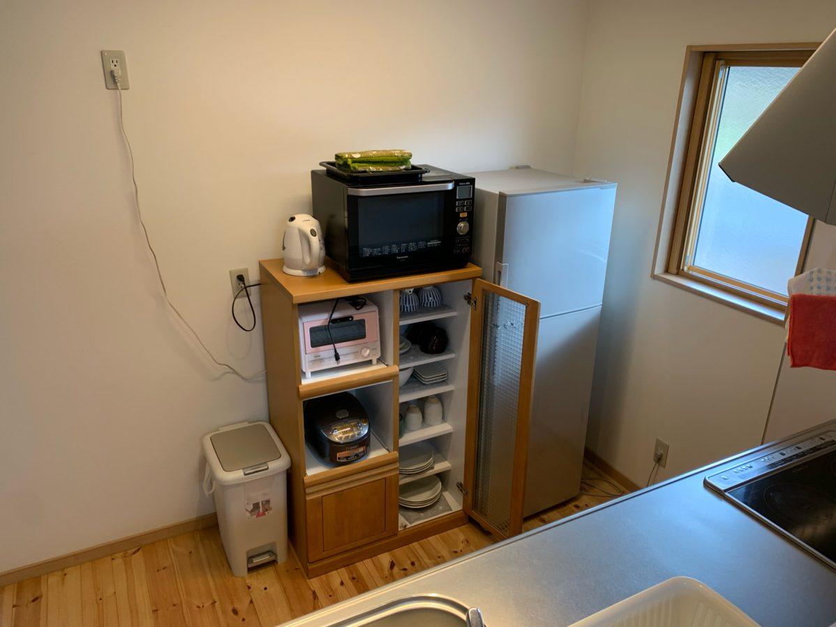 体験施設内のキッチン設備