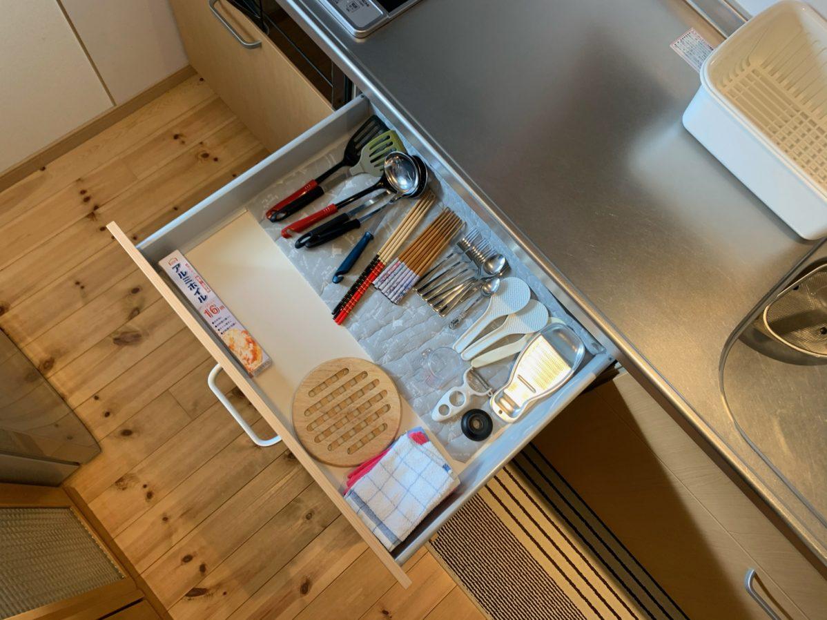 体験施設の調理道具