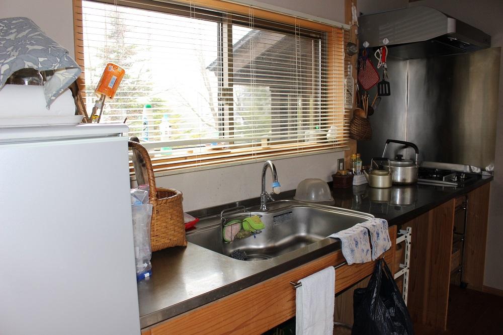 広々とした調理スペース