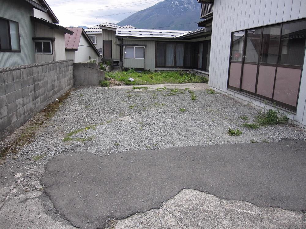 ひろ~い駐車スペース