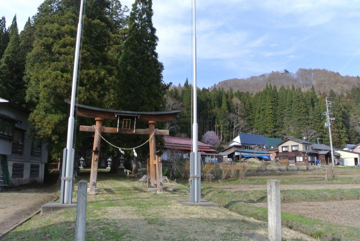 信陰最上古湖神社