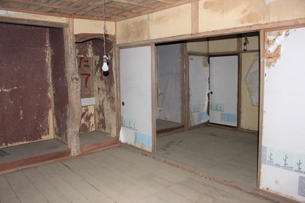 2階には床の間のある和室が3つ